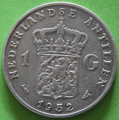 Netherlands Antilles 1 Gulden 1952