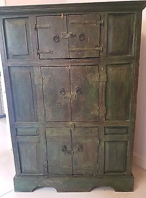 Large antique indian cabinet
