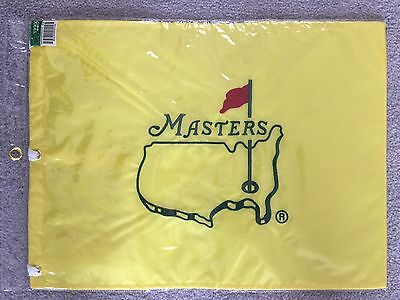 Undated Masters Golf Flag Official Augusta New Sealed Unsigned