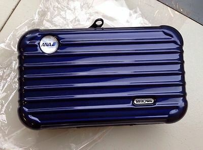 ANA - All Nippon Airways RIMOWA First Class Airline Amenity Kit - New - Sealed