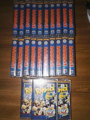 Rampage HIT SQUAD NOS Amstrad CPC Tape New OLD Stock