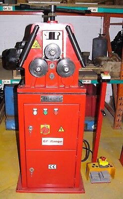 ERBM 10HV Powered section roll / profile bending machine, 20 x 20 section