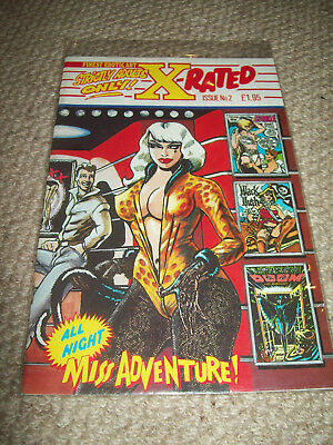X-RATED Miss Adventure Comic. Adult content