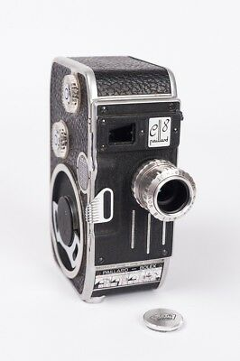 Bolex-Paillard C 8 + Som Berthiot  Cinor B 1:1.9 F 12.5 Read description