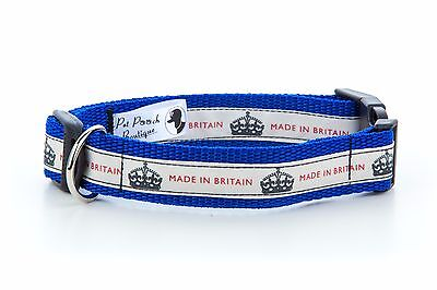 Made In Britain Puppy Dog Collar OR Lead Size Small - Extra Large