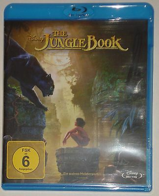 The Jungle Book Disney Das Dschungelbuch Blu Ray NEU OVP