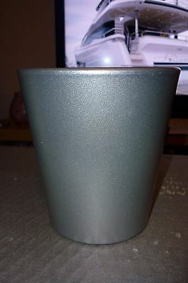 Ceramic Flower Plant Pots choice 3 colours new, red gold silver no drainage hole