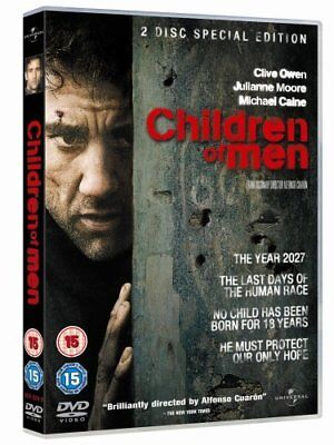 Children of Men [Blu-ray][Region Free] [2006] [DVD][Region 2]