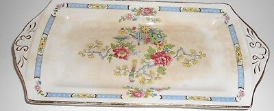 ANTIQUE TSING NELSONWARE Pottery TRAY PLATE MADE IN ENGLAND