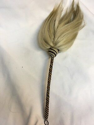 Vintage Ethnic African Woven Horsehair Fly Swatter