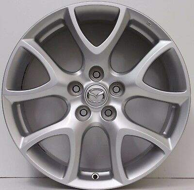 18 inch Genuine MAZDA RX8 2008 MODEL ALLOY WHEELS VERY LIGHT AND VERY RARE