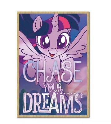 New My Little Pony Fleece Blanket Kids 100% Official Chase Your Dreams