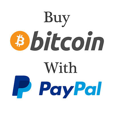 Buy Bitcoin pay with PayPal. 10 BTC available, chose amount you'd like.