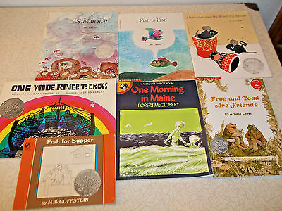 Book lot 33 CHILDREN ALL CALDECOTT AWARD MEDAL WINNERS  Teacher/Homeschool