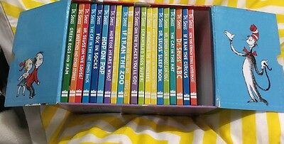 The Wonderful World of Dr. Seuss Collection  20 Books Box Set