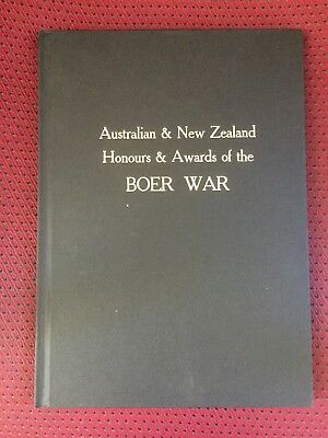 Australian and New Zealand Honours and Awards of the Boer War