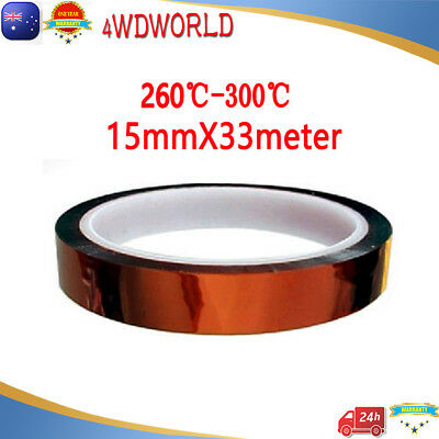 15mm 33m Heat Resistant High Temperature Kapton Tape Polyimide for soldering OZ