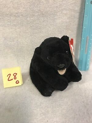 Ty Beanie Baby ~ CINDERS the Bear ~ WITH HANG TAG ~ RETIRED