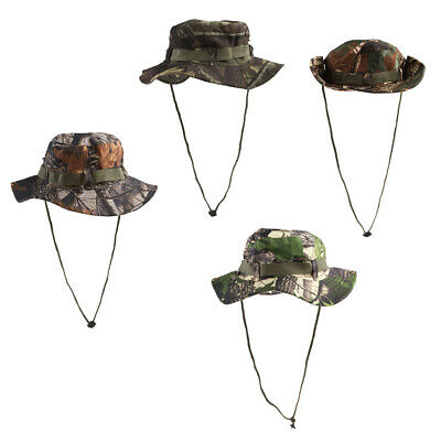 9dbc16577c4 GI Boonie Jungle Army Bush Hat Hiking 100% Cotton Ripstop Digital Woodland  Camo SIZE XL Mil-Tec 10713S Clothing
