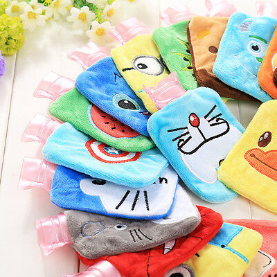 Mini Cartoon Warm Hand Hot Water Bottle Plush Relaxing Heat Cold Therapy Bags