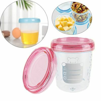Food Storage Set Cup Breast Milk Fruit Juice Storage Seal Preservation Cups NEW