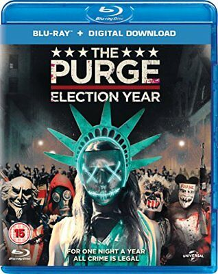 The Purge: Election Year (Blu-ray + Digital Download) [2016] [DVD][Region 2]