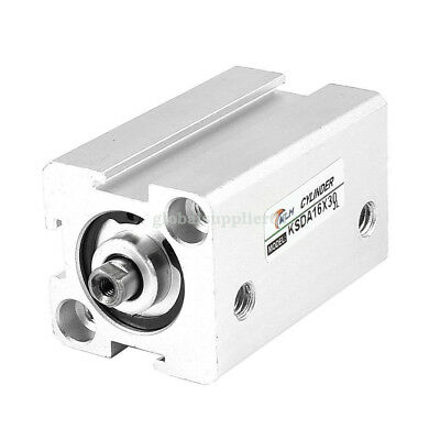 16mm Bore 30mm Stroke Dual Acting Compact Air Cylinder