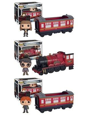 Harry Potter : HOGWARTS EXPRESS Funko POP! trio with Harry, Ron & Hermione