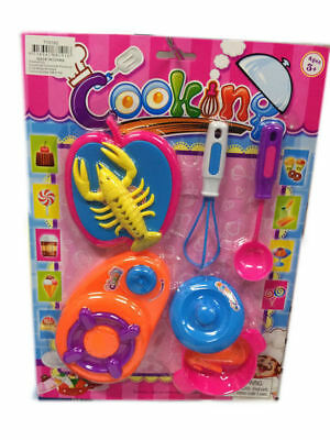 24 Cutlery Cooking Set 4 Assorted Girls Toy Bulk Wholesale Lot