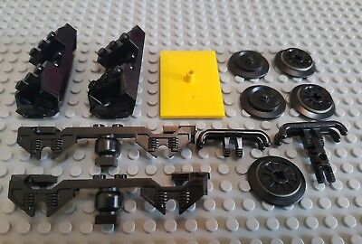 LEGO City - Railway Train Parts and Pieces Mixed Wheels Bogey etc