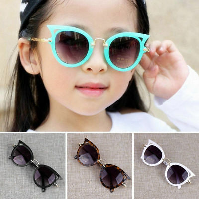 Kids Cat Eye Sunglasses Children Lovely Summer UV Protection Fashion Eyeglasses