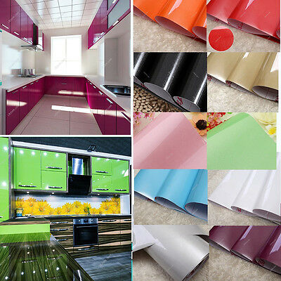 yazi Self Adhesive Vinyl Kitchen Cupboard Cover Removable Contact Paper 61x250cm