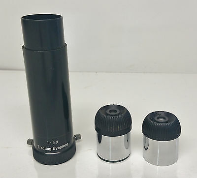 Erecting Eyepiece 1.5X Plus 2 x Telescope Eyepiece H12.5mm & H6mm