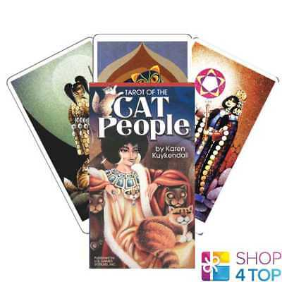 Tarot Of The Cat People Cards Deck Karen Kuykendall Esoteric Telling New