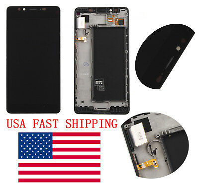 For Microsoft Lumia 950 Touch Screen Digitizer + LCD Display Assembly +frame USA
