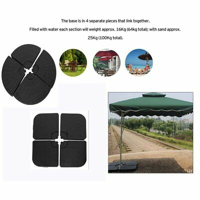 For Banana Hanging Cantilever Style Parasol Set Of 4 Parasol Base Offset Weights