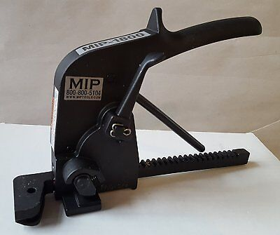 """New Steel Strapping Tool Tensioner. Made USA. Pusher Rack Type. Width 3/8""""-3/4"""""""