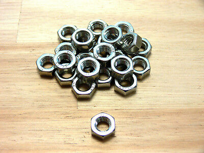 Hexagon nuts M6, M8, M10 Fine thread Stainless steel , DIN 934 , Nut