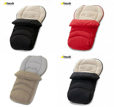 Hauck 2 Way Reversible Fleece Cosytoes Footmuff Winter Breathable All Seasons