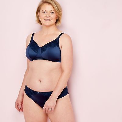 Spirit Post Surgery Navy Lace Non-Wired Non-Padded Post-Surgery Bra