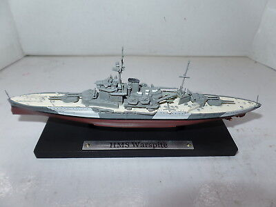 GM113  Atlas DeAgostini 1/1250 Scale British Battleship HMS Warspite WW II