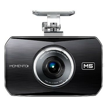 Momento MD-5200 - M5 Full HD Dual Dash Cam Bundle - Black