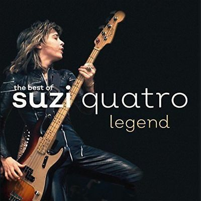 SUZI QUATRO LEGEND THE BEST OF ROCK CD (PRE-ORDER For Released On 22/09/2017)