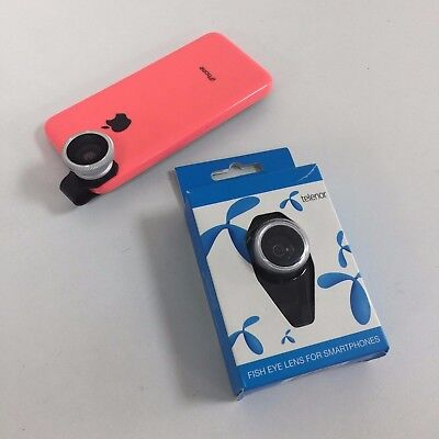 Fisheye Camera Phone Lens for Smartphone Samsung Galaxy iPhone HTC