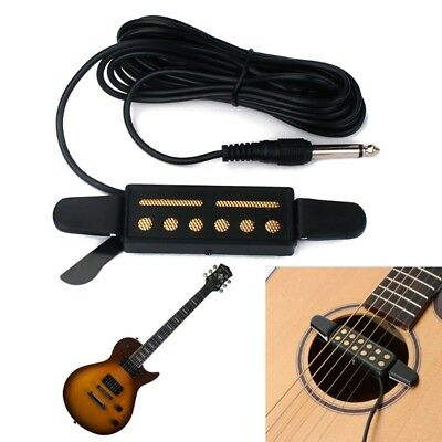 12 Hole Sound Pickup Microphone Amplifier Speaker For Acoustic Guitar Instrument