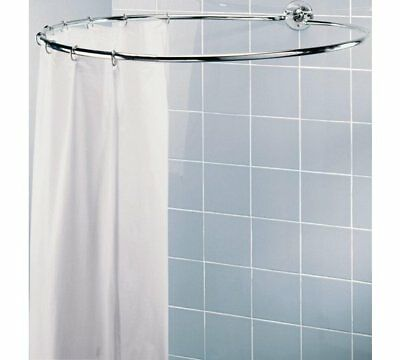 HOME Circular Shower Rail Plated Shower Rail Is Light Yet Sturdy A Chrome Plated