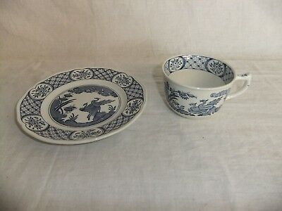 C4 Pottery Furnivals Old Chelsea (pattern no.647812), 7D3A
