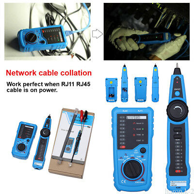 Telephone Network Cable Wire Line Probe Tracker Tester Tone Generator Tracker US