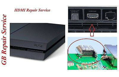 Repair Service for Sony PlayStation 4 PS4 HDMI Port replacement