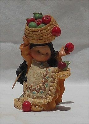 1995 Friends of the Feather Figurine She Who Shares Bushels